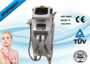 China Multifunction SHR Super Hair Removal Machine 3 in 1 Bipolar RF Yag Laser Machine on sale