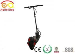 China Small Two Wheel Foldable Electric Scooter Black For Teenagers 10 Inch on sale