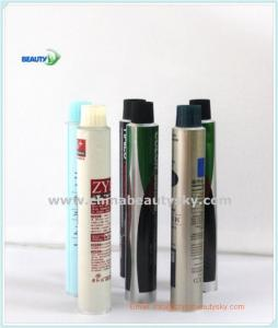 China Cosmetic packaging airless tubes Flexibele aluminium buizen  for hair dye cream tubes hand cream tubes skin care tube on sale