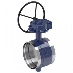 China API Double Eccentric Butterfly Valve Excellent Flow Adjusting Ability on sale