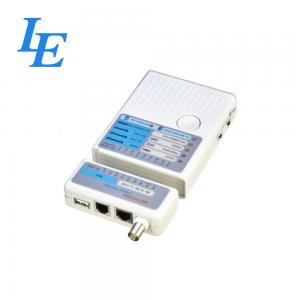 China Crimping Tools Cable Rj45 Tester , Ethernet Network Tester Operate With Auto Scan on sale