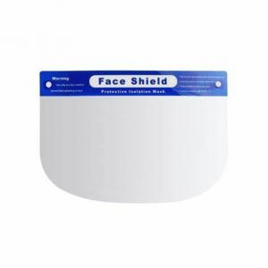 China Customized Disposable Face Shield , Lightweight Clear Plastic Face Shield on sale