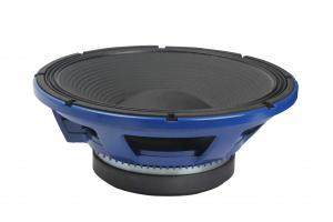 China Blue Small High Power Pro Audio Speakers With Pressed Paper Dust Cap on sale