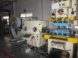 China AC 7.5KW Sheet Metal Straightener Machine For Air Conditioning Parts / Automatic Control Batching Machine on sale