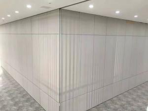 China Top Hung Office Partition Divider Meeting Room Sliding Folding Partition on sale