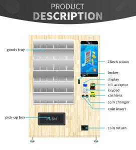 China Journal Note Book Automatic Vending Machine With Simple And Comfortable Appearance supplier