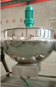 China stainless steel industry kettle inox Food Processing Application commercial steam jacketed kettle on sale