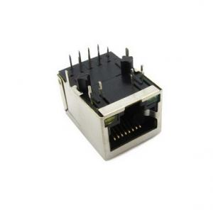 China IP65 Industrial Ethernet Connector RJ45 Waterproof / Male And Female Connectors on sale