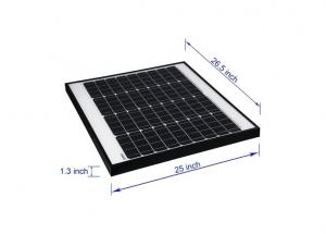 China PV Solar Panels / Mono Cell Solar Panel Anodized Aluminum Alloy Frame on sale