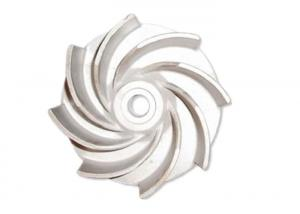 China SS304 Stainless Steel Impeller Casting Silica Sol Investment Casting Pump Components Foundry on sale