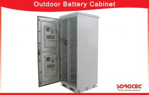 China Mini size Outdoor Battery Cabinet Solar System and Telecom Base Station on sale