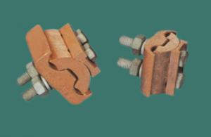 China JBT Copper Parallel Groove Clamp Power Line Splicing Fitting for Acsr Aluminium Conductor JBT-0 on sale