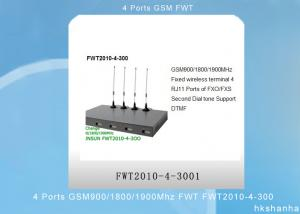 China 4 Ports GSM Fixed Wireless Terminal 900/1800/1900Mhz FWT FWT2010-4-300 on sale