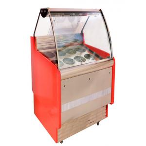 China Fan Cooling Refrigerated Cake Display Cabinets Low Power Consumption on sale