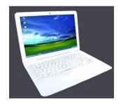China wholesale 13.3 Inch Small Laptop PC with Intel ATOM N450 + 1G Memory + Wif on sale