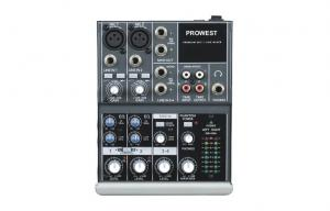 China Mini pro audio mixer 4 channel portable for home / dj club on sale