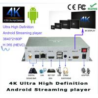 3840 X 2160P UHD 4K Digital Android Streaming HD Digital Signage Player