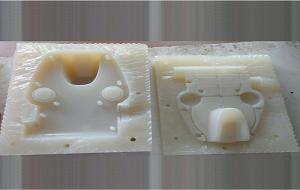 China Black Matte Silicon Vacuum Die Casting , Vacuum Molding Plastic For Plastic Component on sale