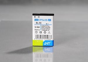 China AAA Grade 600mAh To 1100mAh High Capacity Nokia Cell Phone Batteries BL-5C Lithium on sale