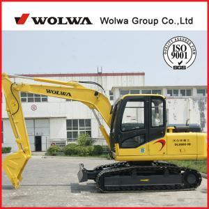 China New crawler excavator price excavator thumb Wolwa DLS880-9B on sale