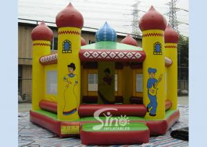 China Outdoor kids ballroom inflatable bouncy house with China traditional theme made of 0.55mm pvc tarpaulin on sale