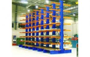 China Cantilever racking, industrial shelving racks for architecture material supermarket on sale
