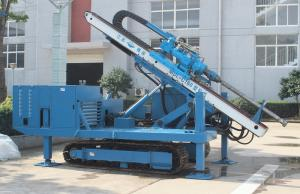 China 140m - 180m Water Drilling Machine Holding Shackle Three Head Variable Hydraulic System on sale