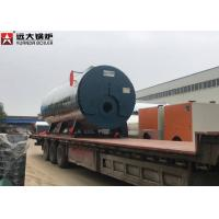 China 5Tph Low Pressure Fire Tube Steam Boiler Automatic Dual Fuel Steam Boiler on sale