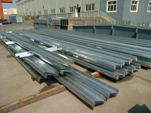 China Cold Formed Galvanised Steel Purlins Light Steel Z Purlin Construction Material on sale