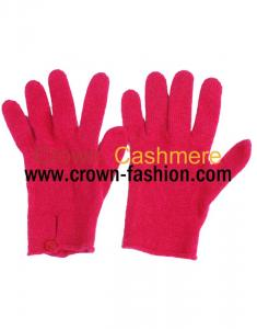 China women cashmere gloves knitted mittens on sale