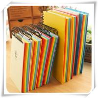 China Newly Design Colorful Inner pages Paper Notebook on sale
