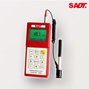 China Universal Leeb Digital Portable Hardness Tester HARTIP3000  Lightweight With RS232 / USB Interface on sale