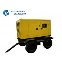 China 2 Wheel Mobile Diesel Generator , Mobile Electric Generator Remote Controllable on sale