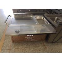 China Rectangle Stainless Steel Japanese Teppanyaki Grill With Thermostat Control on sale