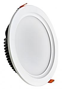 China 8inch 21W 30W Black Swan led recessed downlight led ceiling lights led round shop lighter on sale