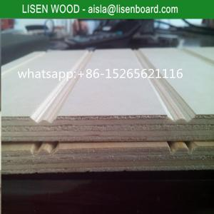 China 9mm 12mm slot pine plywood with full pine core for chile market on sale