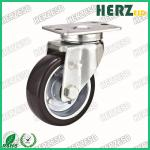 ESD Conductive Metal Core Rubber Caster Wheels Size 2-6 Inch Load Bearing 100-500kg
