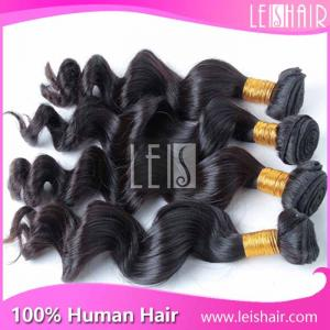China Wholesale human hair extension remy brazilian human hair loose wave on sale