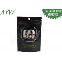 Mylar Ziplock Plastic Bag Packaging Kush Cannabis For Long Term Storage