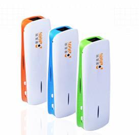 China 2 in 1  3G Wireless router+Power Bank,WIFI hotspot.Mini WIFI AP on sale