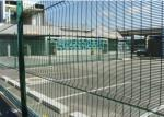Hot Dipped Galvanized Industrial Security Fence( mesh size 25mmX76mm)