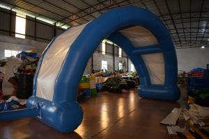 China Water Proof PVC Fabric Inflatable Advertising Signs / Wide Inflatable Entrance Arch on sale