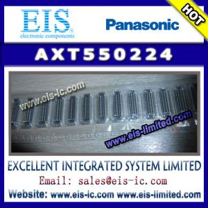 China AXT550224 - PANASONIC - NARROW-PITCH, THIN AND SLIM CONNECTOR - sales009@eis-ic.com on sale
