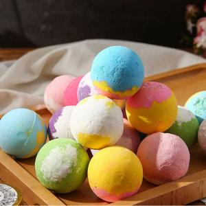 China 6-Pack Bath Bombs Gift Set with Essential Oils and Bath Salts Perfect for Spa Bath Handmade Birthday or Christmas Gifts on sale