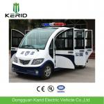 8 Seats Enclosed Electric Pick Up Car With Alarm Lamp Suits For City Walking Street