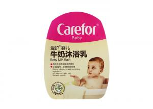 Quality Matte varnish IML In Mold Label For Baby Lotion HDPE Bottle QSOP3600 for sale