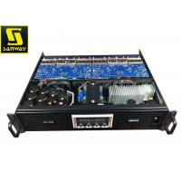 20K ohms 4 Channel Stereo Amplifier / Class TD 4 CH Professional Amplifier For Public Address Systems