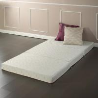 Warm / Cool Comfortable Sofa Bed , Playing Thin White Single Sofa Bed Mattress