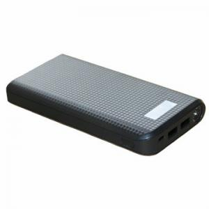 China 100% Full Capacity 20800mAh Backup Dual USB LCD Mobile Battery Backup Charger on sale