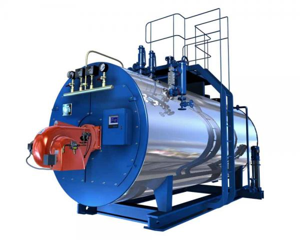 low pressure 2.5 ton gas, oil, dual fuel fired steam boilers ...